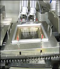 窒素囲気ウェーブ式 自動はんだ窒素囲付け装置